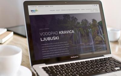 Vodopad Kravica ima novu web stranicu